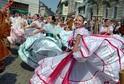 Mezinárodní folklorní festival.