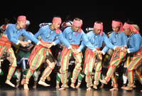 Soubor Taiwan Aboriginal Dancers Culture & Arts Group.