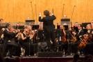 Janáčkova filharmonie a šéfdirigent Mathias Förster.