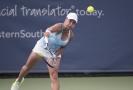 Kazašská tenistka Julia Putintsevová.