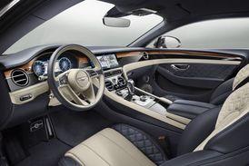 Bentley a luxusní interiér - to patří k sobě.