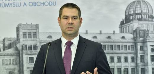 Ministr průmyslu a obchodu Jiří Havlíček (ČSSD).