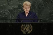 Litevská prezidentka kritizovala Moskvu, ruští diplomaté odešli