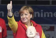 Vítězství Merkelové je jasné, o třetí místo se svede boj