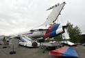 Bývalý vládní letoun Tu-154.