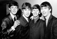 The Beatles, zleva Paul McCartney, John Lennon, Ringo Starr a George Harrison.