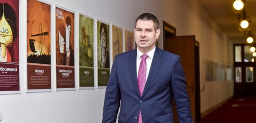 Ministr průmyslu a obchodu Jiří Havlíček.