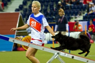 Loňský titul bude obhajovat česká reprezentantka Martina Magnoli Klimešová se svou fenkou Kiki.