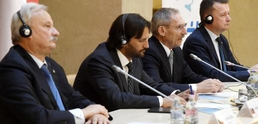 Jednání ministrů V4.