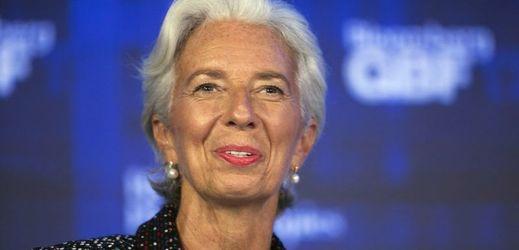 Šéfka Mezinárodního měnového fondu Christine Lagardeová.