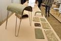 Sedák je zhotovený z lisovaného sena.