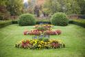 Zámecká zahrada v Chrastu.