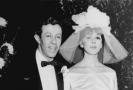 Adolph Green se svou snoubenkou Phyllis Newmanovou.