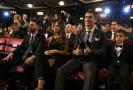 Cristiano Ronaldo na slavnostním vyhlášení v Londýně.
