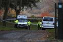 Policie uzavřela okolí místa nehody.