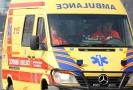 Záchranáři převezli zraněné do nemocnice (ilustrační foto).