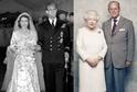 Alžběta II. a Philip.