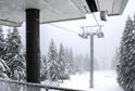 Lanovka na Sněžku je mimo provoz.