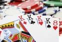 Karetní hra Poker se vyvinula v USA, kde ve 20. století získala svou konečnou podobu.
