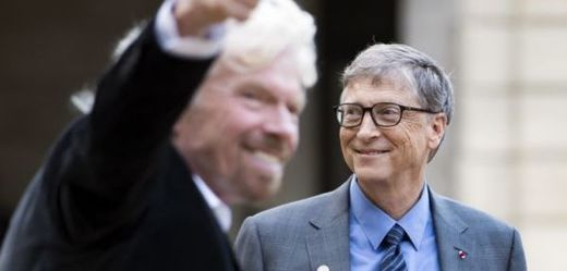 Miliardář Bill Gates.