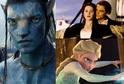 Avatar, Titanic, Ledové království.