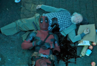 Snímek z teaser traileru na film Deadpool 2.