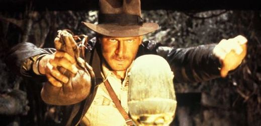 Harrison Ford jako Indiana Jones.