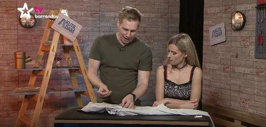 Barrandovští kutilové Adam a Lucie ukážou další zlepšovák.