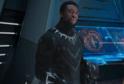 Snímek z filmu Black Panther. V Hlavní roli Chadwick Boseman.
