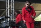 Zpěvák Matěj Ruppert z kapely Monkey Business, která vystoupila 23. června v Praze na hudebním Prague Metronome Festivalu.