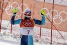 Andre Myhrer se stal nejstarším slalomovým medailistou v olympijské historii.