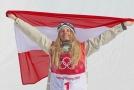 Anna Gasserová vybojovala zlato pro Rakousko.