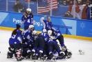Americké hokejistky se po dvaceti letech dočkaly olympijského zlata.