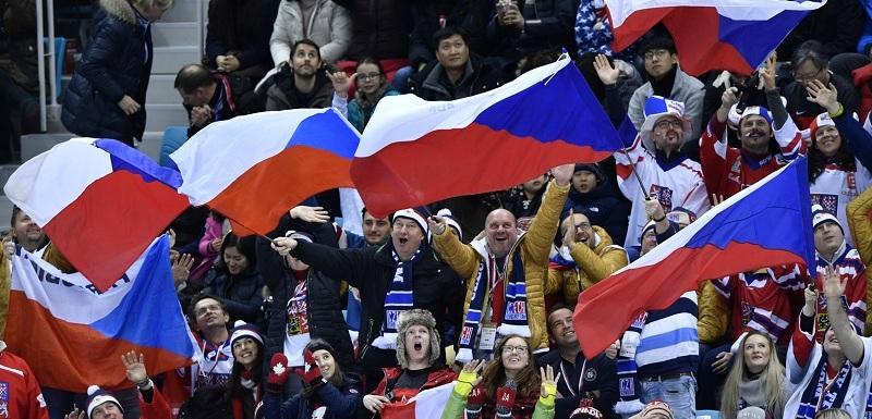 Výsledek obrázku pro fanoušci české hokejové reprezentace