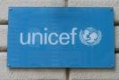 Logo organizace UNICEF.