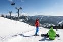 Ve Špindlerově Mlýně leží až 80 centimetrů sněhu.