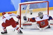 Konec snu o zlatu. Hokejisté padli s Ruskem 0:3
