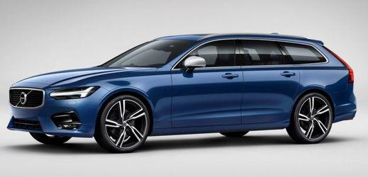 R-Design dodává modelu V90 sportovnější vzhled.