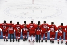 Rusové po vítězství v olympijském turnaji.