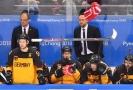 Zklamaný hokejový tým po prohře na olympijských hrách (ilustrační foto).