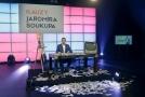 Moderátor pořadu a generální ředitel TV Barrandov Jaromír Soukup.