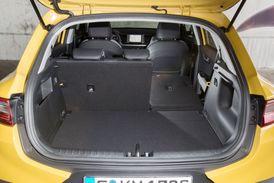 Variabilita zadních opěradel umožňuje zvětšit zavazadlový prostor.