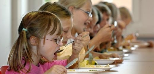Brno přispěje na školní obědy pro děti se zdravotní dietou (ilustrační foto).