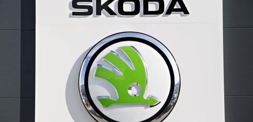 Logo automobilu Škoda.