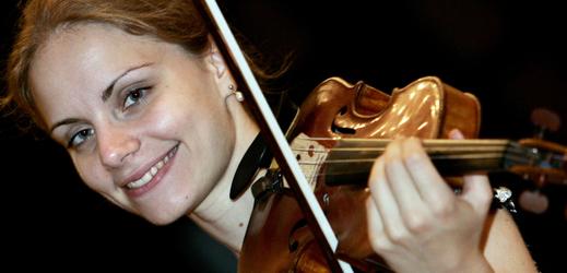 Julia Fischer, německá houslistka.