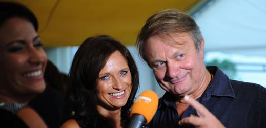 Jiří Adamec s manželkou Janou.