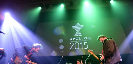 Snímek z minulého ročníku předávání cen Apollo.