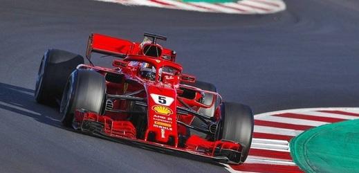 Sebastian Vettel překonal v Barceloně traťový rekord.