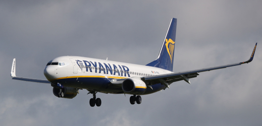 Ryanair chce zvýšit provoz z Prahy.