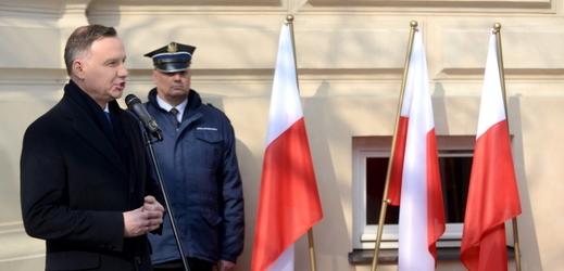 Polský prezident Andrzej Duda.